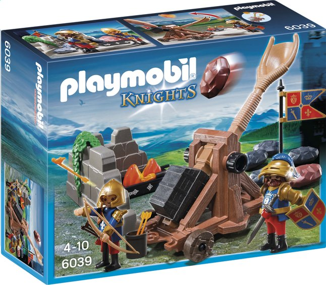 Afbeelding van Playmobil Knights 6039 Katapult van de Leeuwenridders from DreamLand
