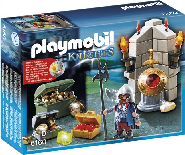 Afbeelding van Playmobil Knights 6160 Bewaker van de koninklijke schat from DreamLand