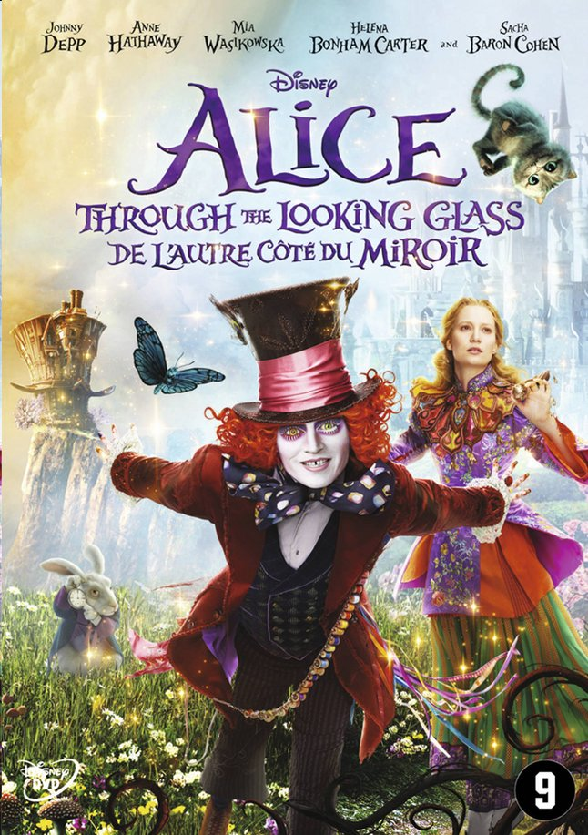 Afbeelding van Dvd Disney Alice Through the looking glass from DreamLand