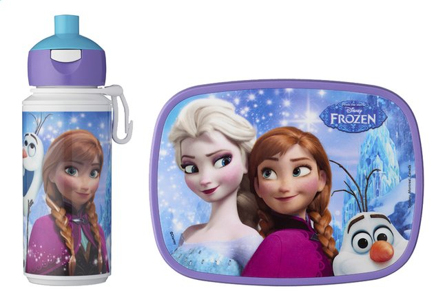 Afbeelding van Rosti Mepal brooddoos en drinkfles Disney Frozen from DreamLand