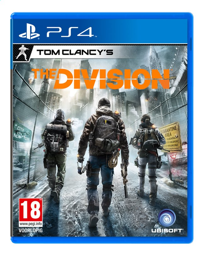 PS4 Tom Clancy's The Division FR/ANG