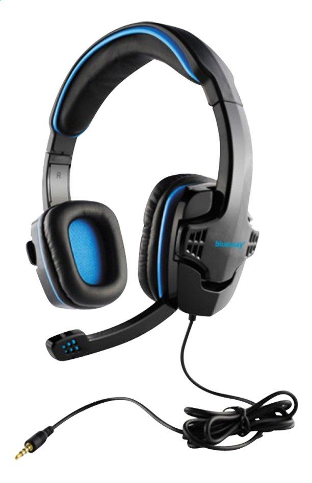 Afbeelding van bigben PS4 headset Blueway zwart/blauw from DreamLand