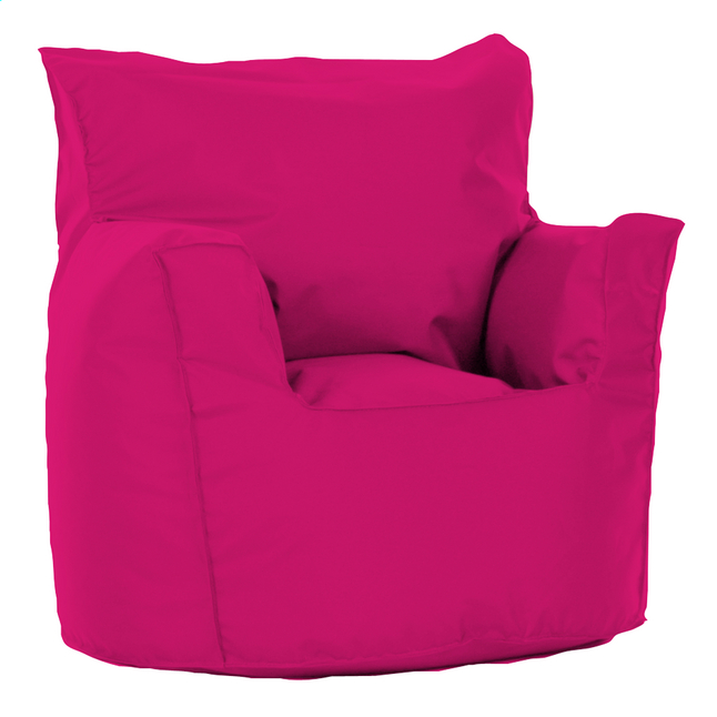 Pouf fauteuil petit fuchsia
