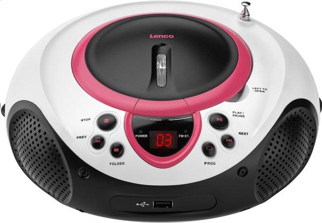 Image pour Lenco radio/lecteur CD portable SCD-38 rose à partir de DreamLand