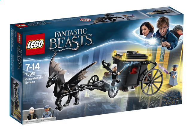Afbeelding van LEGO Fantastic Beasts 75951 Grindelwald's ontsnapping from DreamLand