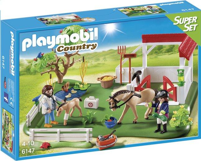 Afbeelding van Playmobil SuperSet 6147 Eerste hulp in de stal from DreamLand
