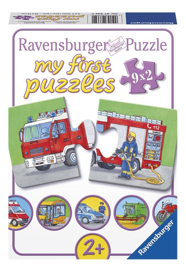 Afbeelding van Ravensburger puzzelbox Speciale voertuigen from DreamLand