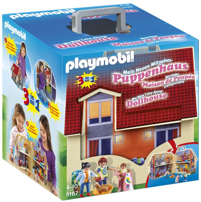 Image pour Playmobil Dollhouse 5167 Maison transportable à partir de DreamLand