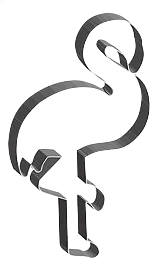 Afbeelding van ScrapCooking bakvorm Flamingo from DreamLand