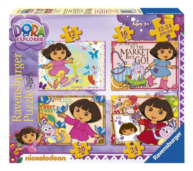Image pour Ravensburger puzzle évolutif 4 en 1 Dora l'exploratrice à partir de DreamLand