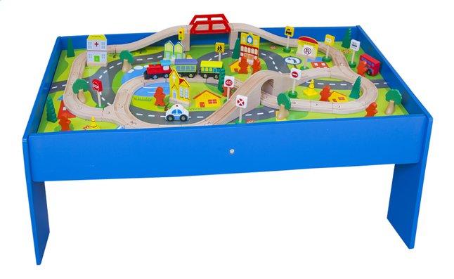 Afbeelding van Houten speeltafel met treinset from DreamLand