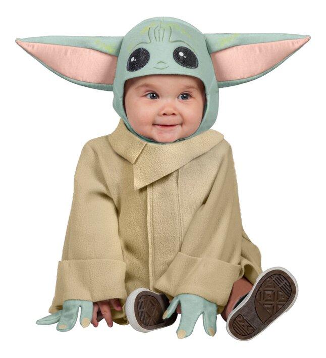 Déguisement Disney Star Wars The Mandalorian Bébé Yoda taille XS