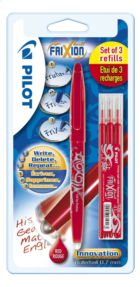 Afbeelding van Pilot rollerball Frixion rood from DreamLand