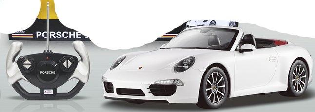 Afbeelding van Auto RC Porsche 911 Carrera S wit from DreamLand