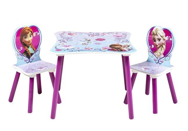 Table avec 2 chaises disney la reine des neiges dreamland for Table exterieur reine des neiges