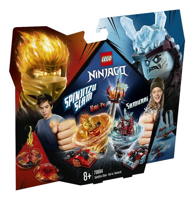 Afbeelding van LEGO Ninjago 70684 Spinjitzu Slam - Kai vs. Samoerai from DreamLand