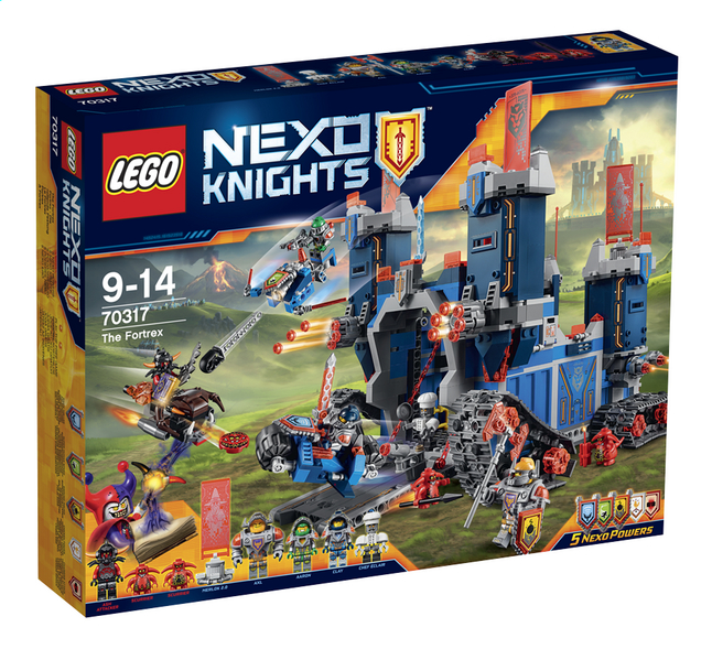 Image pour LEGO Nexo Knights 70317 Le Fortrex à partir de DreamLand
