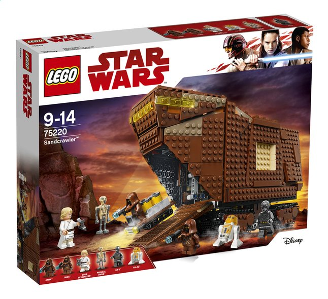 Afbeelding van LEGO Star Wars 75220 Sandcrawler from DreamLand