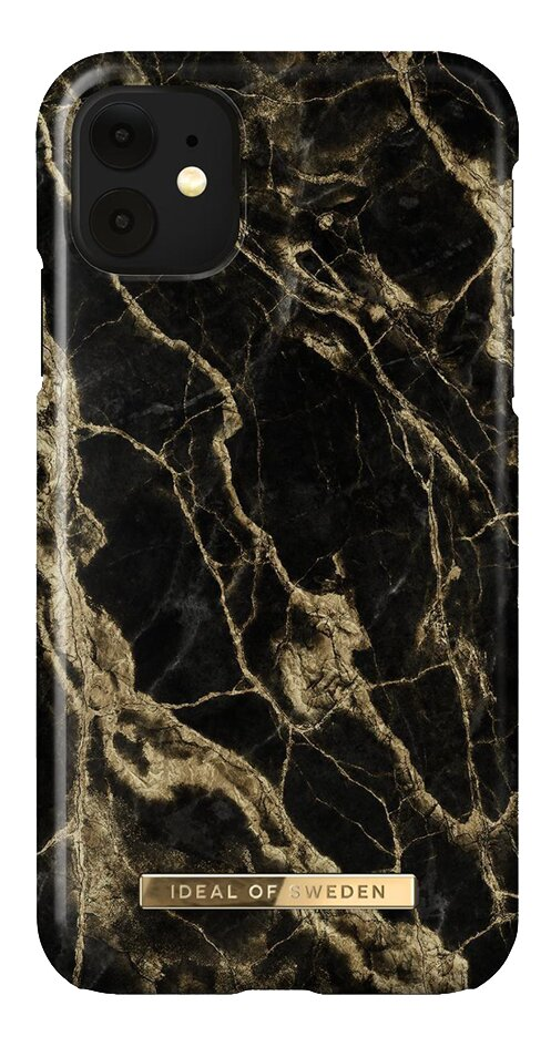 iDeal of Sweden coque iPhone 11/Xr Golden Smoke Marble