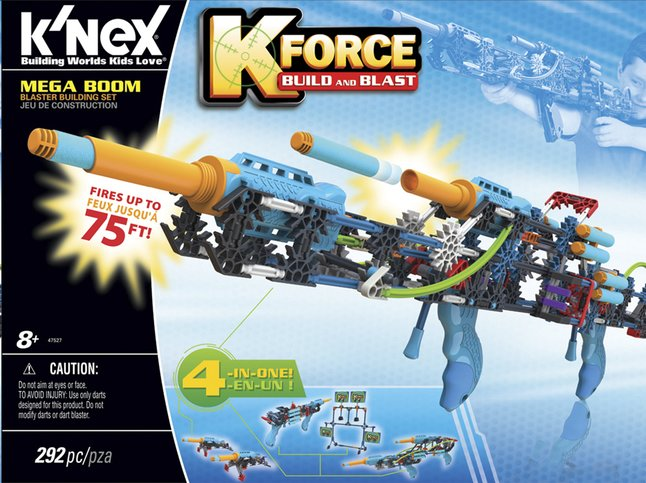 Image pour K'nex K-Force Build and Blast Mega Boom à partir de DreamLand