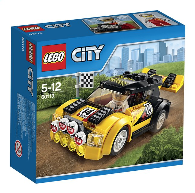 Afbeelding van LEGO City 60113 Rallyauto from DreamLand
