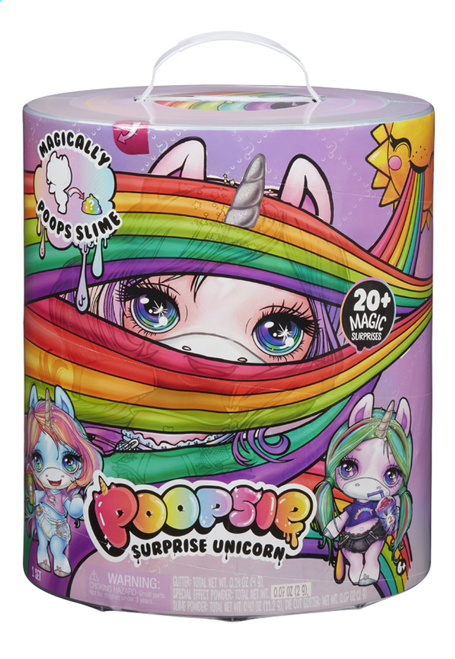 Afbeelding van Poopsie Surprise Unicorn blauw/roze from DreamLand