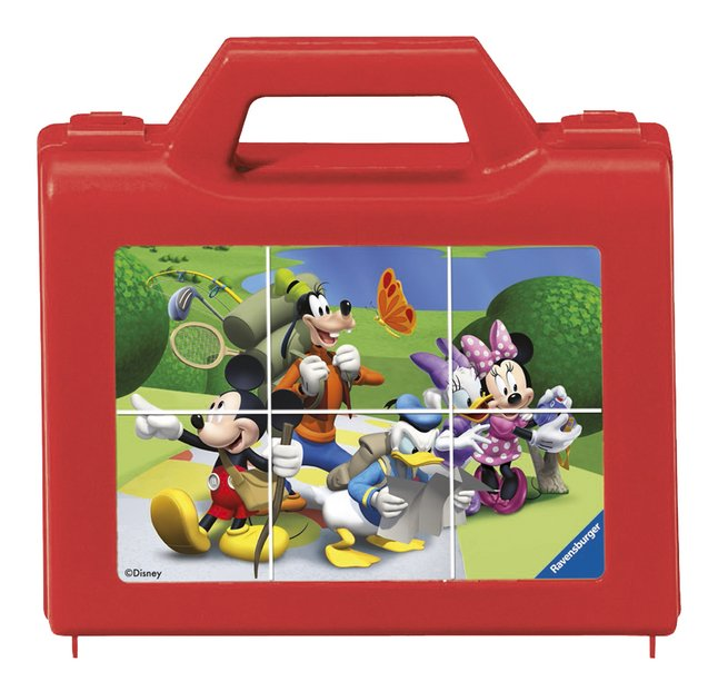 Afbeelding van Ravensburger blokkenpuzzel Mickey Mouse Club House from DreamLand