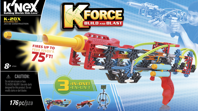Image pour K'nex K-Force Build and Blast K-20X à partir de DreamLand