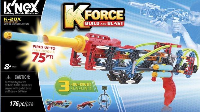 Afbeelding van K'nex K-Force Build and Blast K-20X from DreamLand
