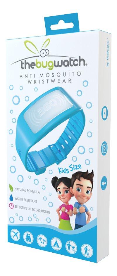 Afbeelding van The Bug Watch antimug armband Kids blauw from DreamLand