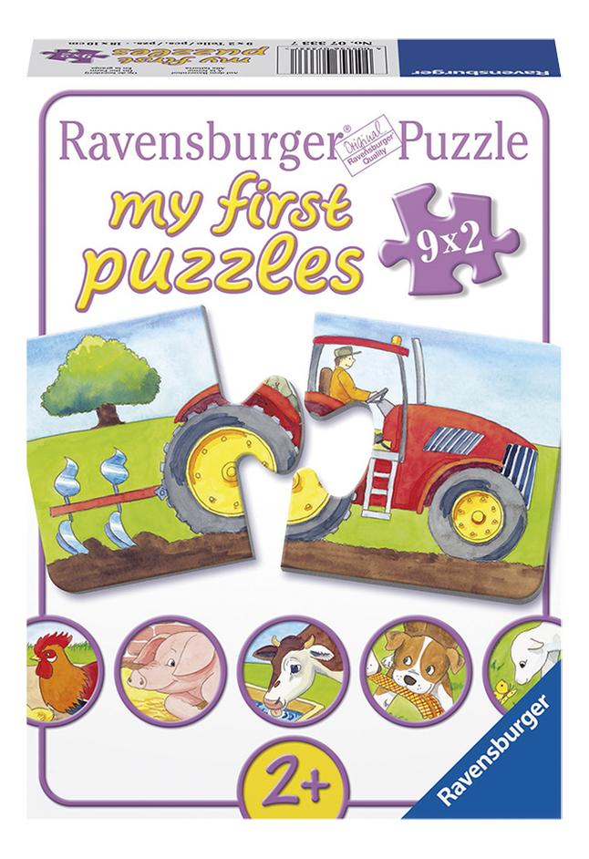 Image pour Ravensburger puzzle 2 en 1 My First À la ferme à partir de DreamLand