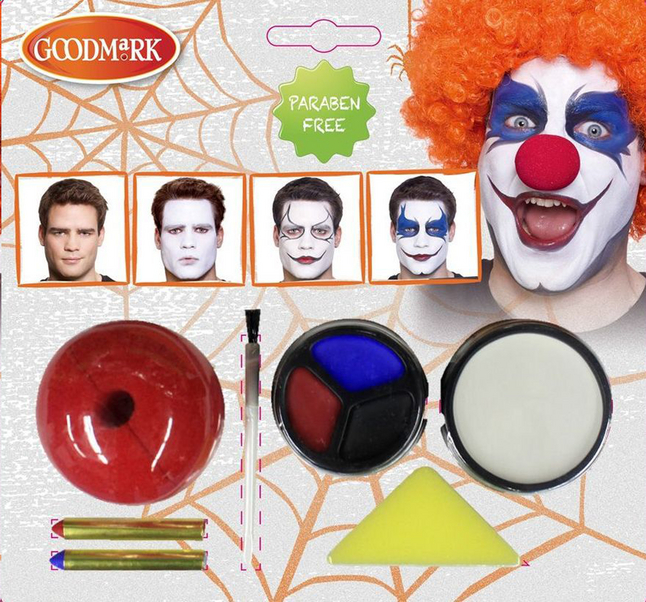 Image pour Goodmark set de maquillage Creepy clown à partir de DreamLand