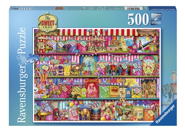 Afbeelding van Ravensburger puzzel The Sweet Shop from DreamLand