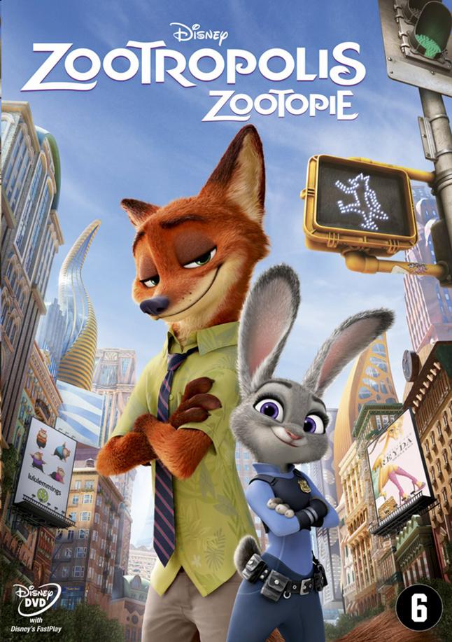 Afbeelding van Dvd Disney Zootropolis from DreamLand