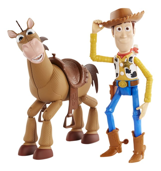 Image pour Figurine articulée Toy Story 4 Woody & Pil-Poil à partir de DreamLand