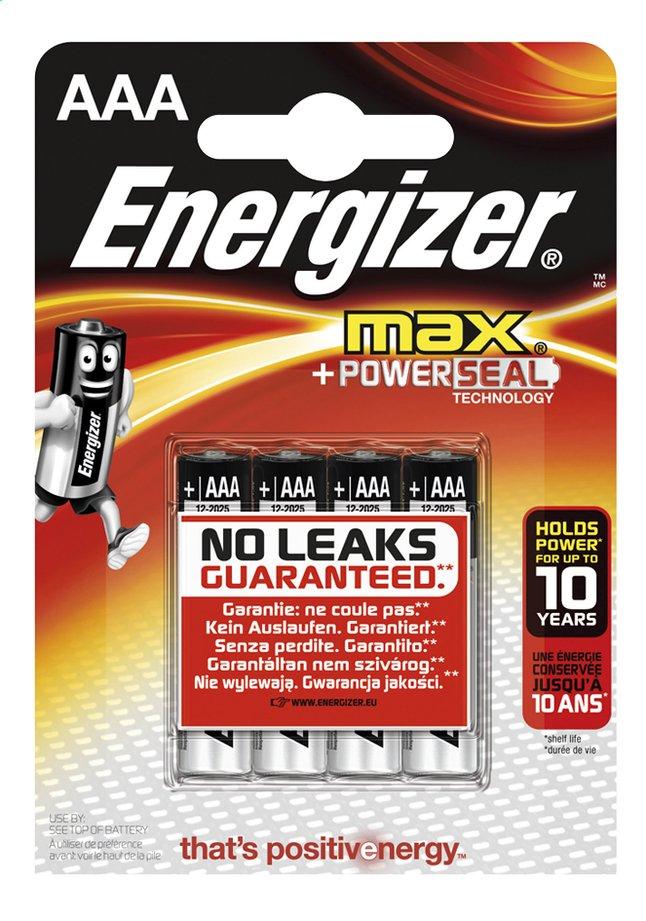 Image pour Energizer Max pile AAA - 4 pièces à partir de DreamLand