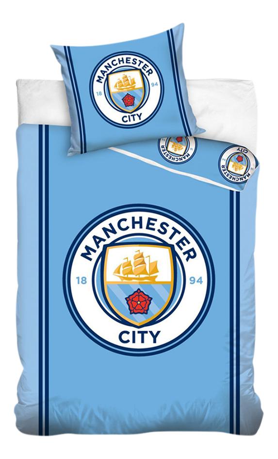 Dekbedovertrek Manchester City katoen B 140 x L 200 cm