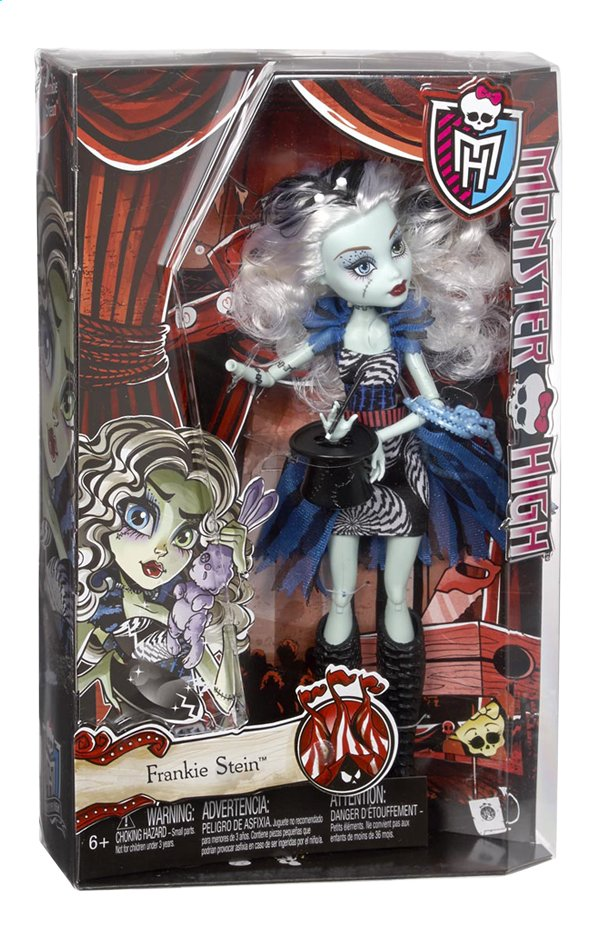 Afbeelding van Monster High mannequinpop Freak du Chic Frankie Stein from DreamLand