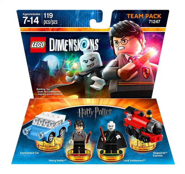 Image pour LEGO Dimensions Team pack 71247 Harry Potter FR/ANG à partir de DreamLand