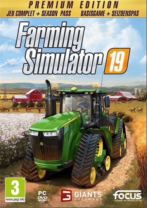PC Farming Simulator 19 Premium Edition ENG/FR