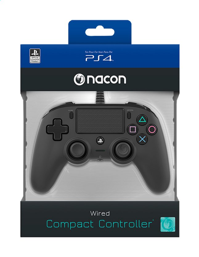 Afbeelding van Nacon PS4 Wired Compact Controller from DreamLand
