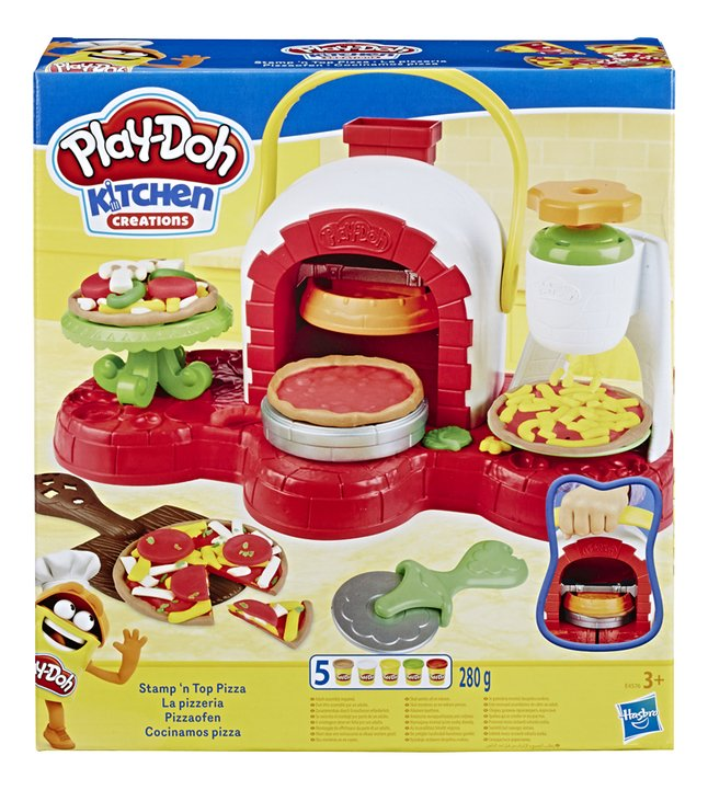 Play-Doh Kitchen Creations Stamp 'n Top Pizza