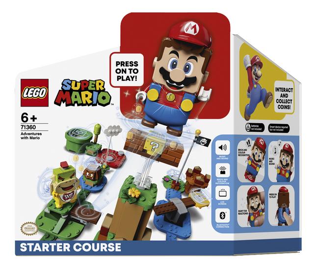 LEGO Super Mario 71360 Pack de démarrage Les Aventures de Mario