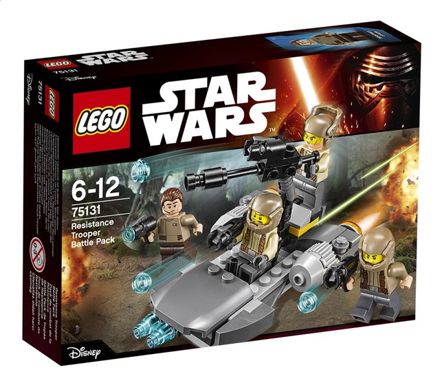 Afbeelding van LEGO Star Wars 75131 Resistance trooper Battle pack from DreamLand