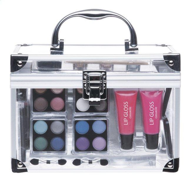 Make-upkoffer transparant 42-delig