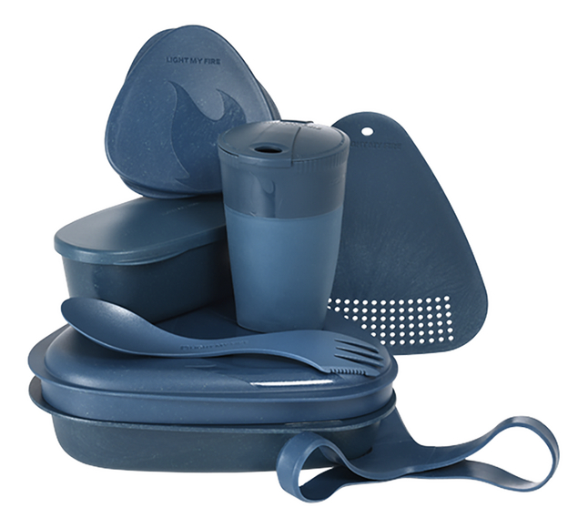 Afbeelding van Light My Fire kookset 8-in-1 Mealkit Bio hazeyblue from DreamLand