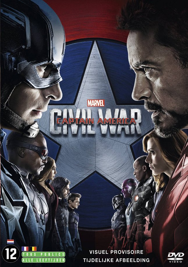 Afbeelding van Dvd Captain America: Civil War from DreamLand