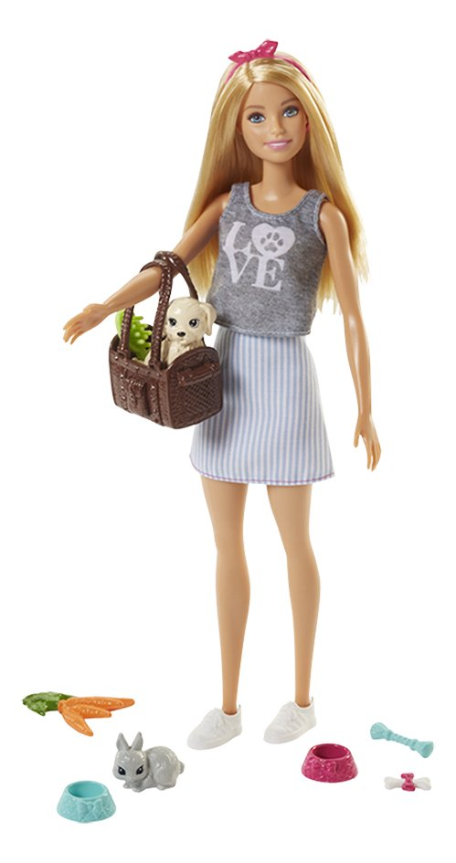 Barbie speelset met huisdieren
