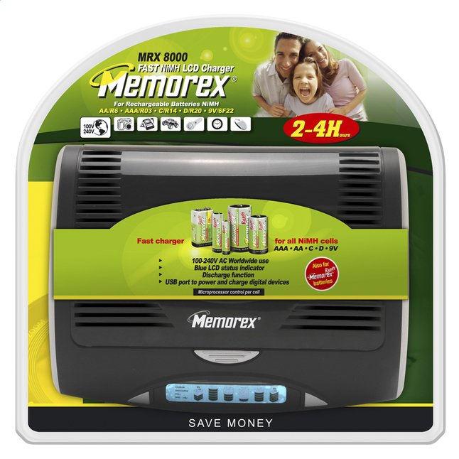 Afbeelding van Memorex batterijlader Universeel MRX8000 from DreamLand