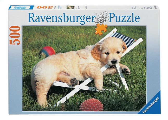 Afbeelding van Ravensburger puzzel Golden retriever from DreamLand
